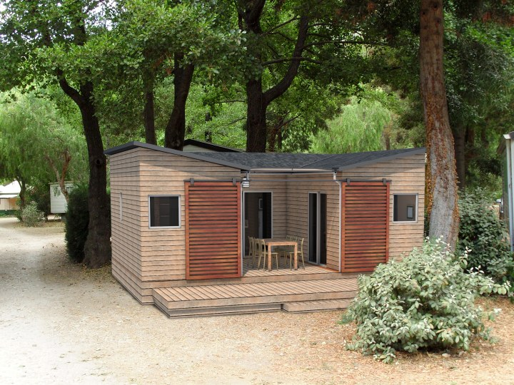 Chalet arbousier fabricant 13 for Fabricant chalet
